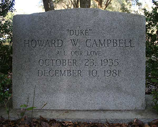 Howard W. Campbell Gravestone Photo