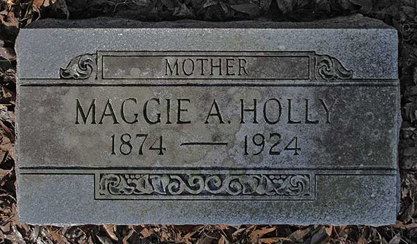Maggie A. Holly Gravestone Photo