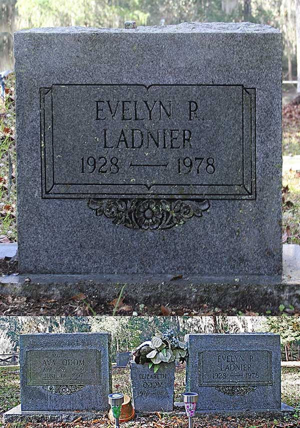 Evelyn P. Ladnier Gravestone Photo