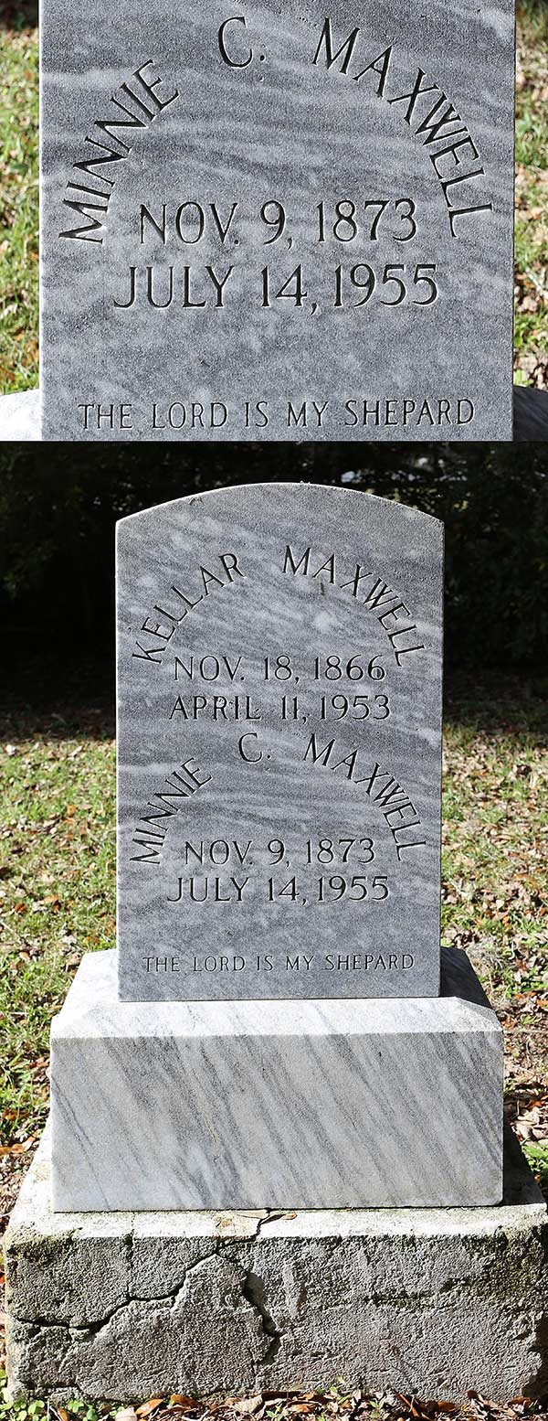 Minnie C. Maxwell Gravestone Photo