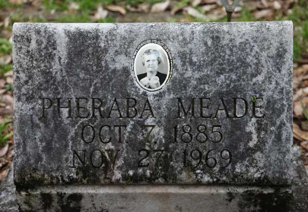Pheraba Meade Gravestone Photo