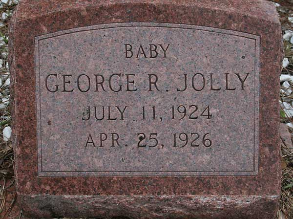 George R. Jolly Gravestone Photo