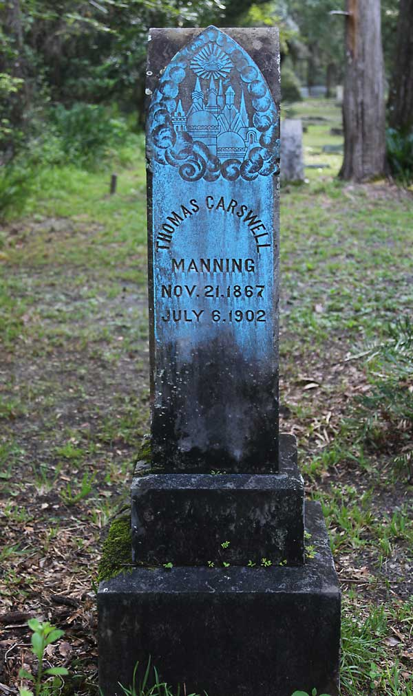 Thomas Carswell Manning Gravestone Photo