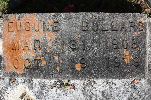 Eugune Bullard Gravestone Photo
