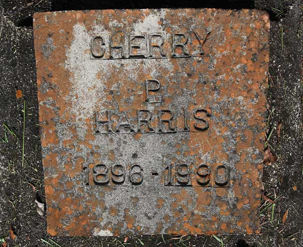 Cherry P. Harris Gravestone Photo