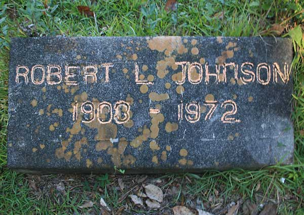 Robert L. Johnson Gravestone Photo