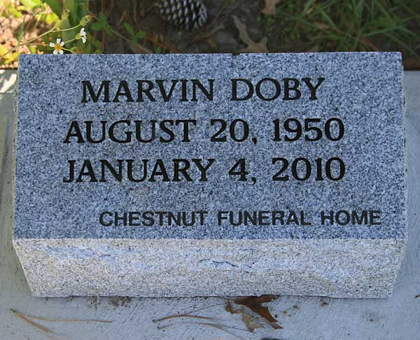 Marvin Doby Gravestone Photo