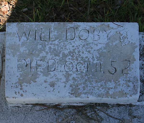 Will Doby Gravestone Photo