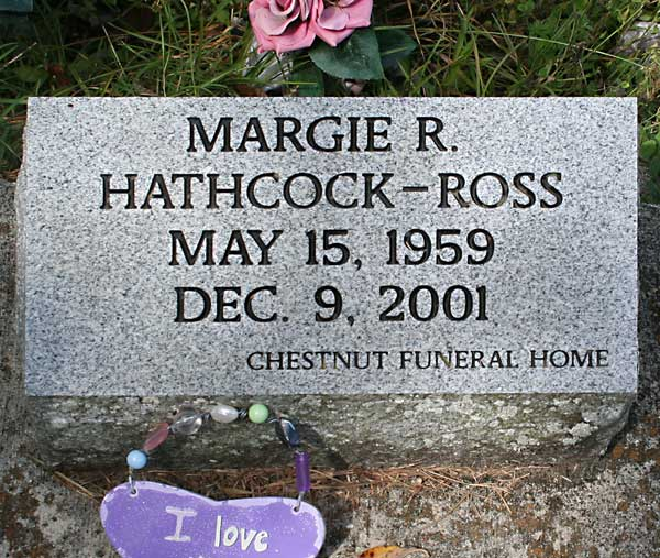 Margie R. Hathcock-Ross Gravestone Photo