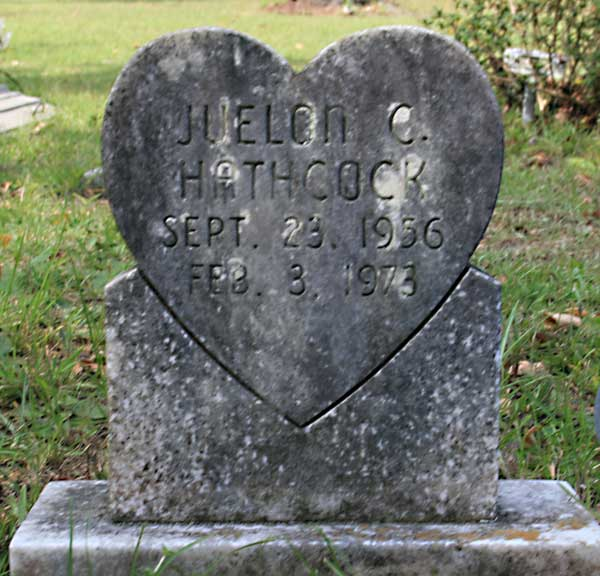 Juelon C. Hathcock Gravestone Photo