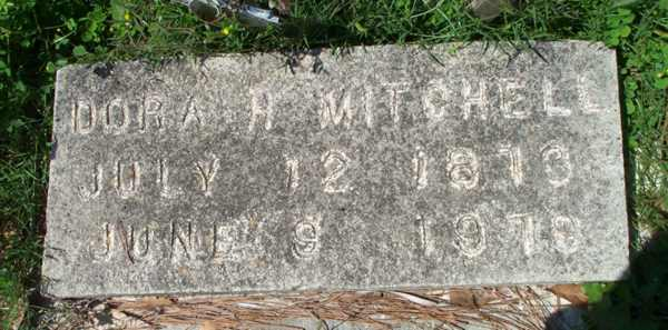 Dora H. Mitchell Gravestone Photo