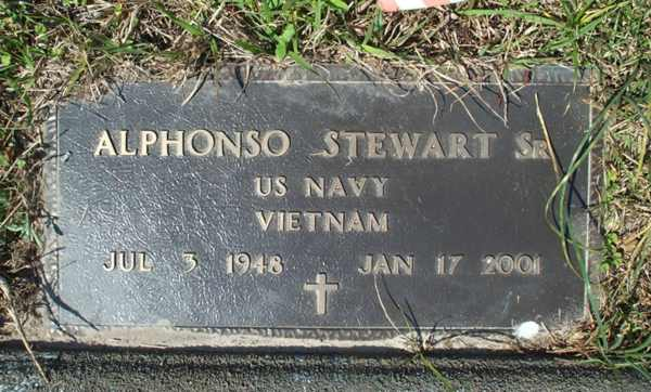 Alphonso Stewart Gravestone Photo