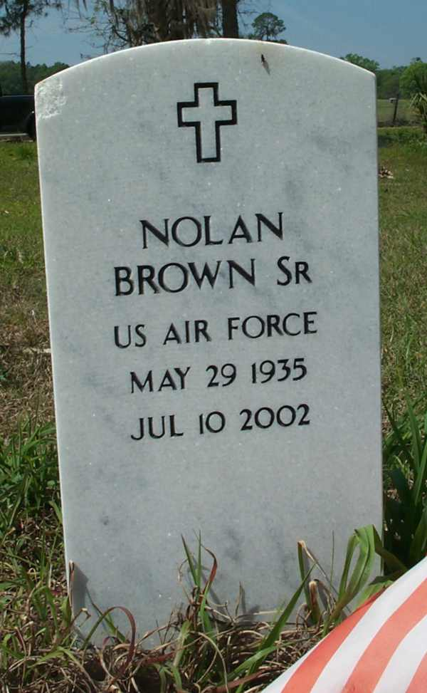 Nolan Brown Gravestone Photo