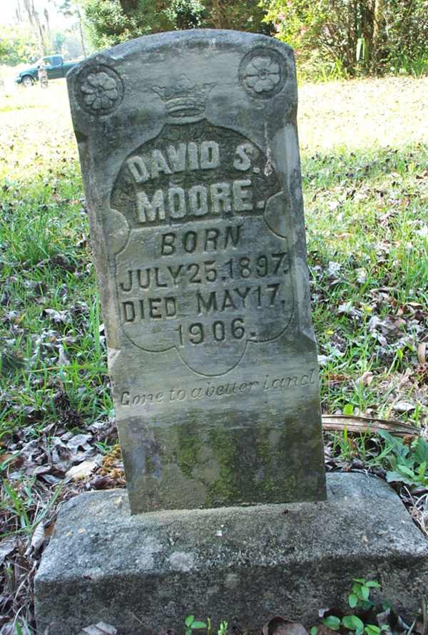 David S. Moore Gravestone Photo