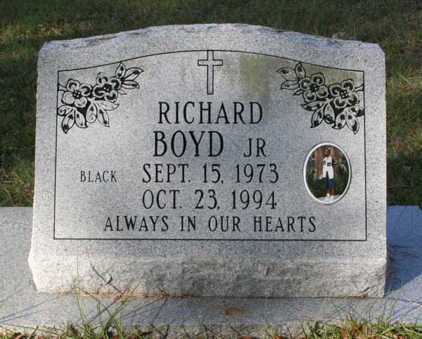 Richard Boyd Gravestone Photo