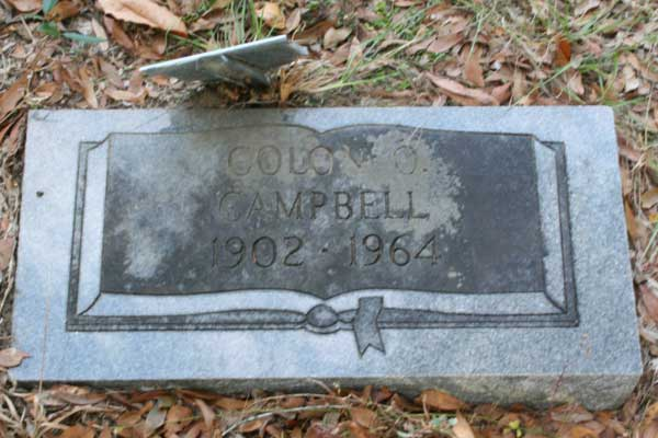 Colon O. Campbell Gravestone Photo