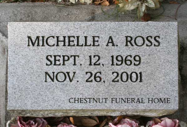 Michelle A. Ross Gravestone Photo