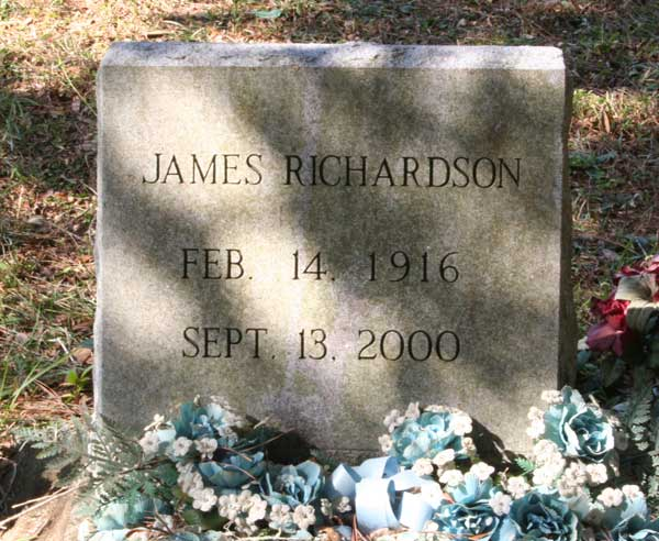 James Richardson Gravestone Photo