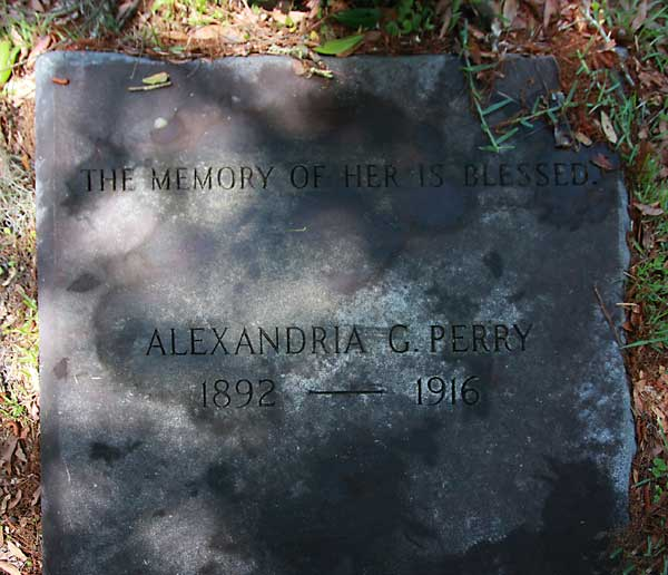 Alexandria G. Perry Gravestone Photo
