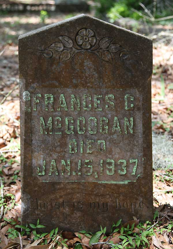 Frances C. McGoogan Gravestone Photo