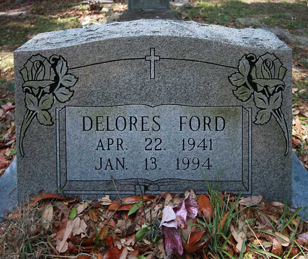 Delores Ford Gravestone Photo