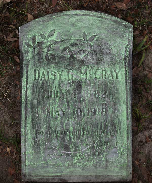 Daisy G. McCray Gravestone Photo