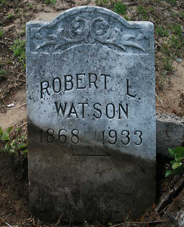 Robert L. Watson Gravestone Photo