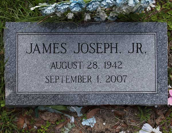 James Joseph Gravestone Photo