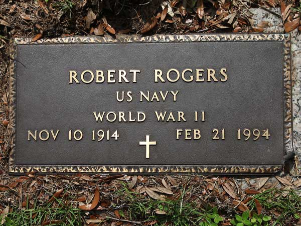 Robert Rogers Gravestone Photo