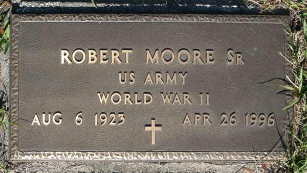 Robert Moore Gravestone Photo