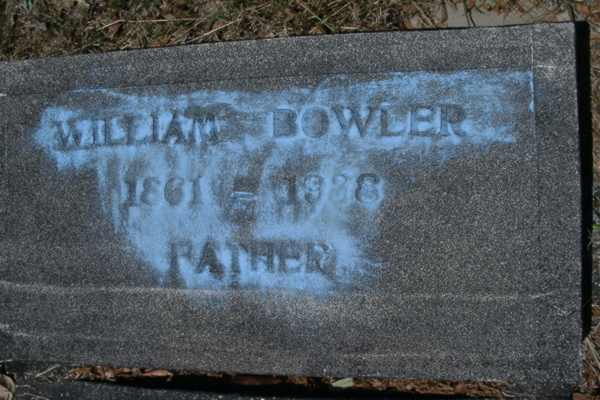 William Bowler Gravestone Photo