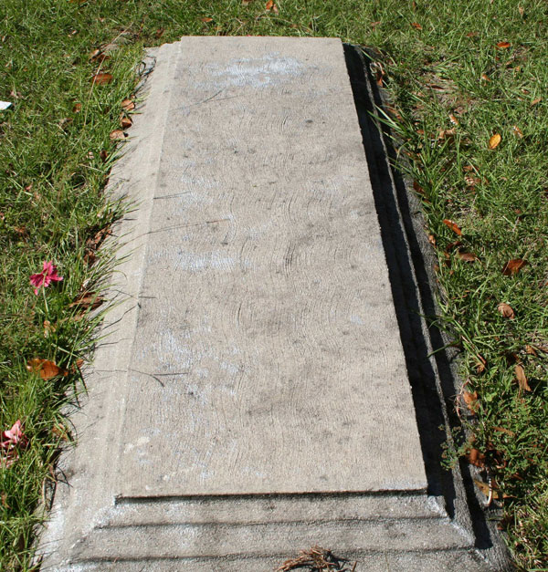 SLAB BLANK Gravestone Photo