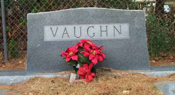 Vaughn Gravestone Photo