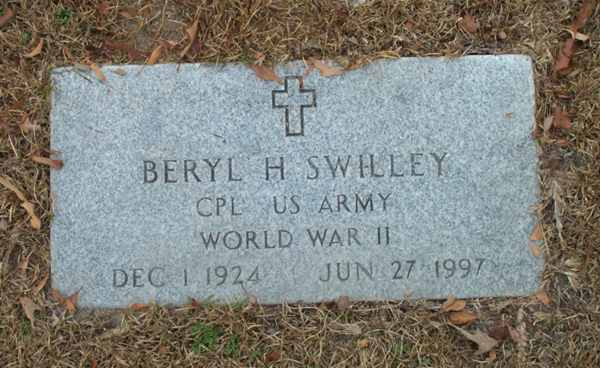 Beryl H. Swilley Gravestone Photo