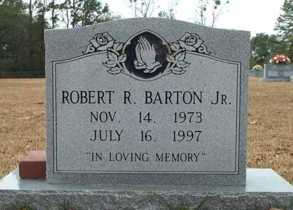 Robert R. Barton Gravestone Photo