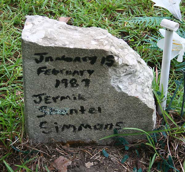 Jermia Shantel Simmons Gravestone Photo