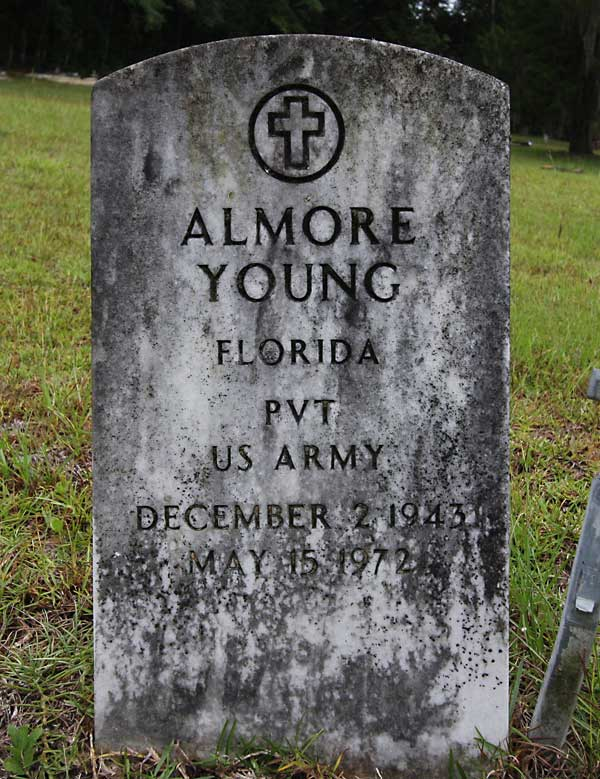 Almore Young Gravestone Photo