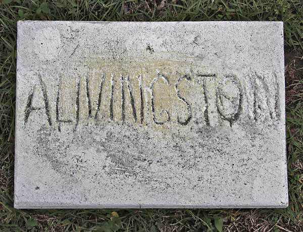 A. Livingston Gravestone Photo