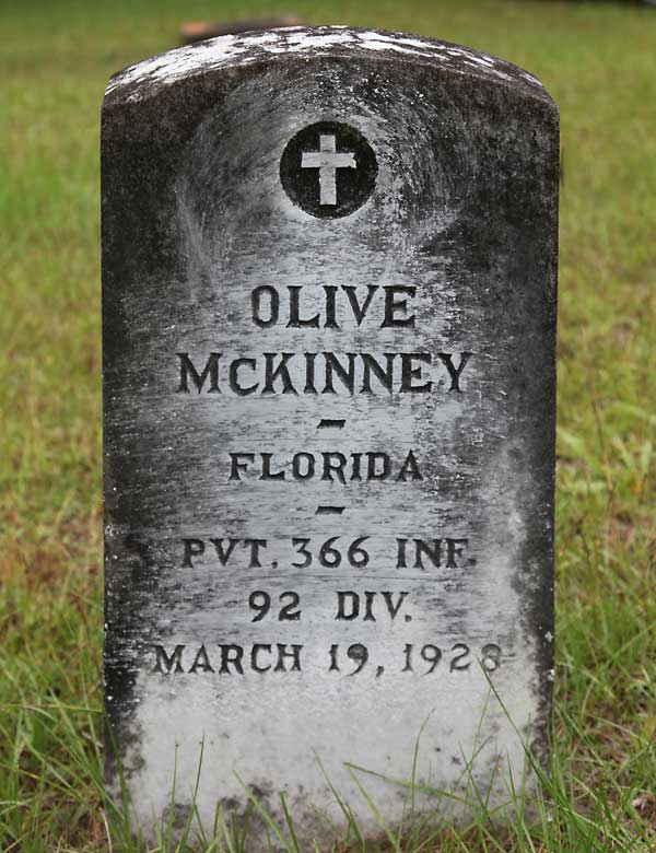 Olive McKinney Gravestone Photo