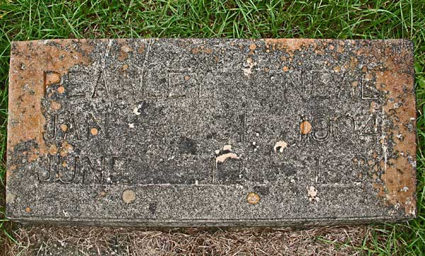 Pearley O'Neal Gravestone Photo