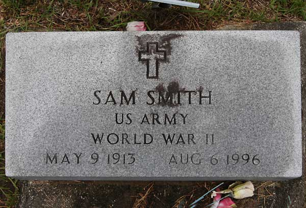 Sam Smith Gravestone Photo