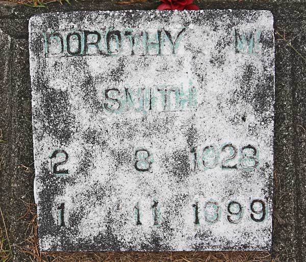 Dorothy M. Smith Gravestone Photo