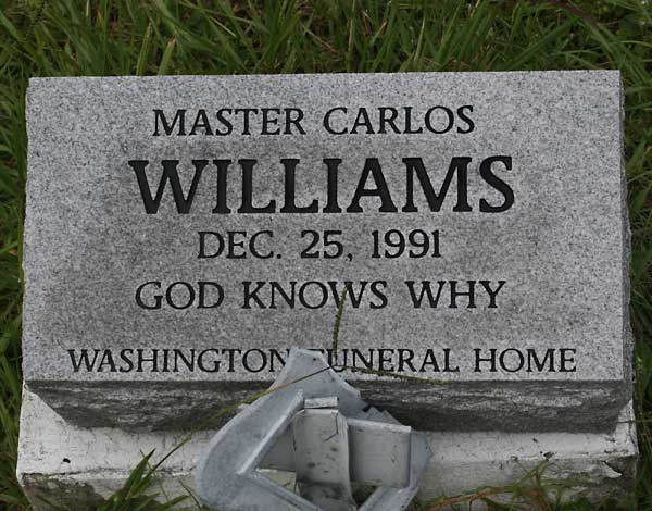 Carlos Williams Gravestone Photo