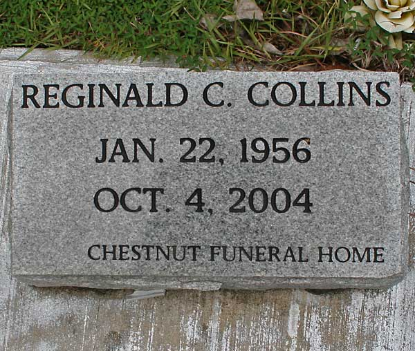 Reginald C. Collins Gravestone Photo