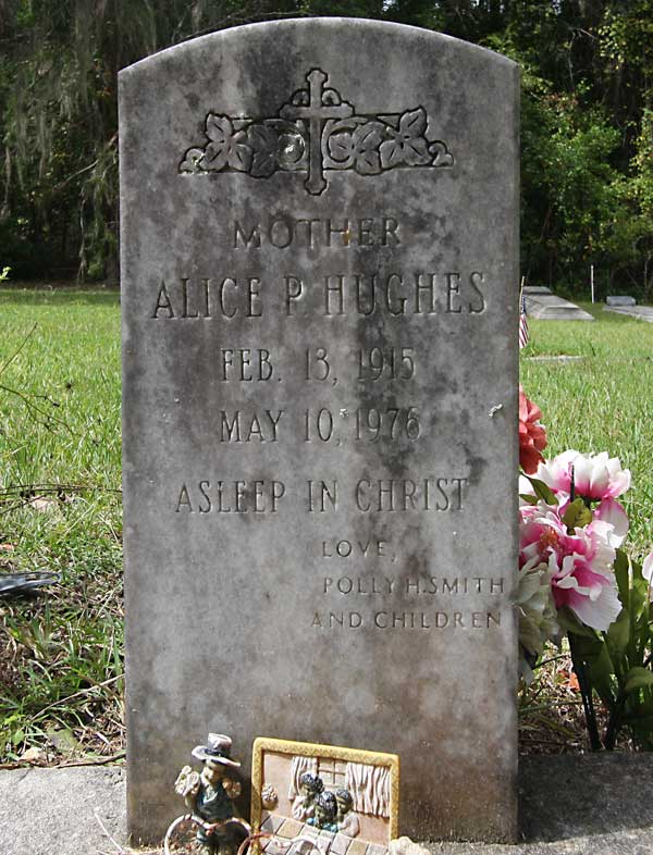 Alice P. Hughes Gravestone Photo