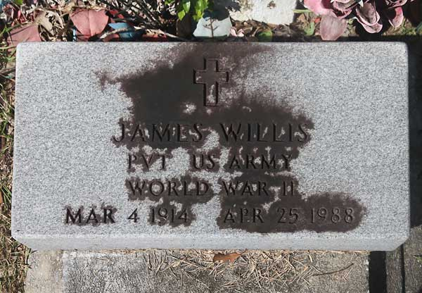 James Willis Gravestone Photo