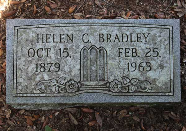 Helen C. Bradley Gravestone Photo