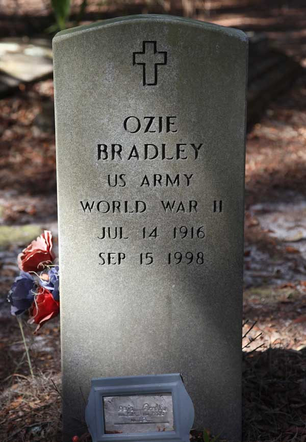 Ozie Bradley Gravestone Photo