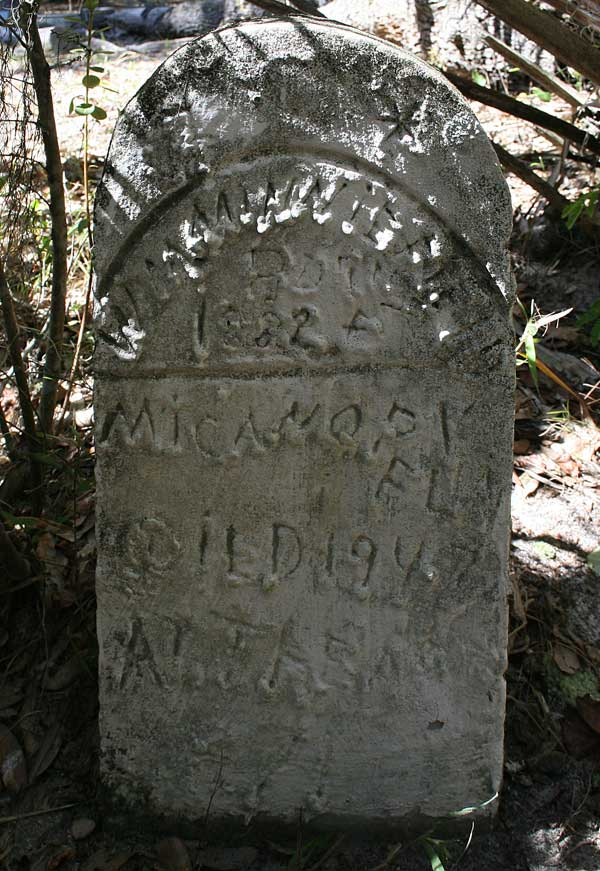 W.M. Minniefield Gravestone Photo
