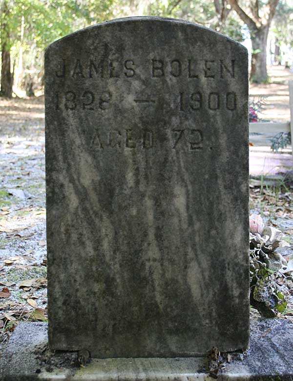 James Bolen Gravestone Photo